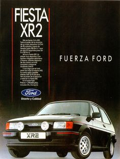 1987 Ford Fiesta XR2 (Spain)