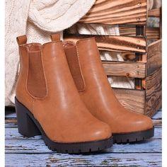 d2e6bb8b0b Zimné dámske členkové topánky sivej farby so zipsom a nízkym ...