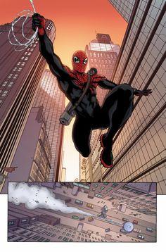 Superior Spider-Man Team Up by David Lopez *
