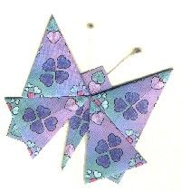 Butterfly Fold - Tea-tastic Teabags: Cards, kits, and papers for the teabag enthusiast