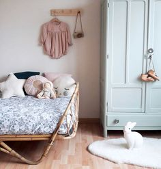 Child fashion 157977899416028593 - vintage-rattan-bed-from-atelier-du-petit-parc Source by petitparc Boy Room, Kids Room, Room Baby, Deco Kids, Little Girl Rooms, Kid Spaces, Kid Beds, Daybed, Kids Decor