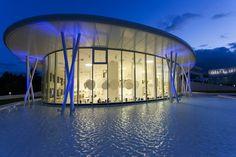 Ritzenhoff glass factory in  Marsberg, Germany, by architect: Clever Architekten + Ingenieure. Photographer: Dirk Vogel #architecture