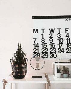 Our Stendig Calendar. Get it now! via @kirslivia #stendigcalendar #calendar