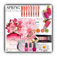 """""""Spring Perfume"""" by sabine-713 ❤ liked on Polyvore featuring beauty, Marc Jacobs, Dolce&Gabbana, OPI and Celestine"""