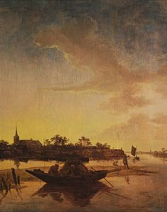 Salomon van Ruysdael, Fishermen in Sea Cove
