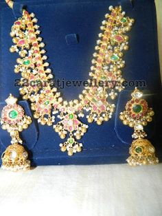 Latest Collection of best Indian Jewellery Designs. Bridal Jewelry, Gold Jewelry, Beaded Jewelry, Jewelery, Women Jewelry, Fashion Jewelry, Jewelry Box, Women's Fashion, South Indian Jewellery