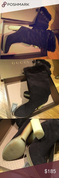 Authentic Gucci boots Authentic Gucci boots Gucci Shoes Heeled Boots