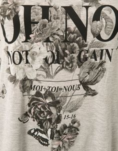 Maglietta Bershka stampa fantasia con apertura laterale e occhielli - T- Shirts - Bershka Italy