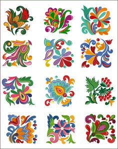 Folk Quilt Blocks!  Quilts are like friends -- a great source of comfort. ~HandiQuilter