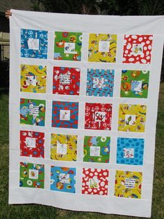 Seuss baby quilt by clkral