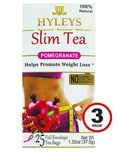 Hyleys Tea Slim Tea Pomegranate 75 Tea Bags 3 Pack *** Check this awesome product by going to the link at the image. (This is an affiliate link and I receive a commission for the sales)