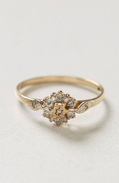 Vintage 50s Diamond Ring