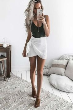 Such a cute skirt.