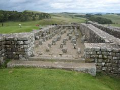 Housesteads Roman Fort, was an auxiliary fort on Hadrian's Wall in England.