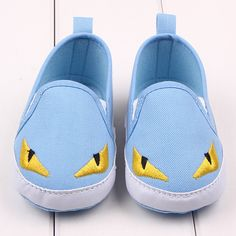 2017 Fashion baby shoes print Little monsters soft soled shoes autumn crib girls boys Casual shoes 3colors anti-slip #Affiliate