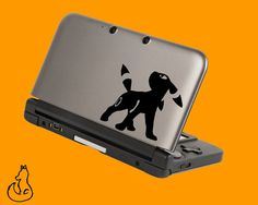 Umbreon Pokemon decal for 3DS XL 3DS by FoxDecals on Etsy, $5.99