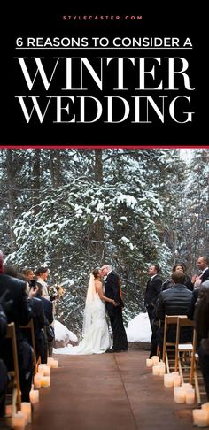 6 MAJOR benefits of having a winter wedding