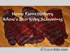 Arlene's Deer Jerky Seasoning, Order now, FREE shipping in San Francisco CA - Free San Francisco SuperAds