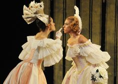 Birmingham Royal Ballet - Beauty and the Beast; Samara Downs as Vanité and Victoria Marr as Fière; photo: Roy Smiljanic