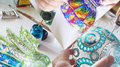 Etsy - About RichanaDragon  #etsy #etsycom || #vitrage #stainedglass #glassware || #homedecor #decor || #gift #giftidea