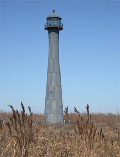 Matagorda Island Lighthouse, Texas at Lighthousefriends.com
