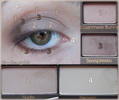 Tuto Make-Up with Natural Eyes - Too Faced. 100% Nude & Mat !