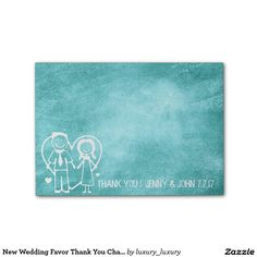 stickers effetto lavagna : New Wedding Favor Thank You Chalkboard Mint Green Post-it? Notes