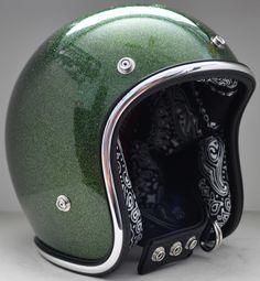 Backstreet Buckets AF40 - Hell Mutt's Custom Motorcycle & Snowmobile Helmet Lining & Design