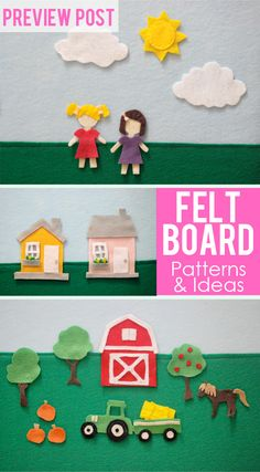 The Busy Budgeting Mama: Preview Post- DIY Felt Board!