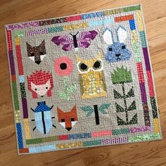 """40 Likes, 5 Comments - Wendy Hainey (@wendy_hainey) on Instagram: """"Forgot to post a finish before I got going on the next quilt. This one will hang in Trixie's…"""""""