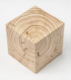 Nico Kok, Wooden cube.