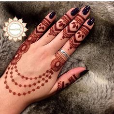 Explore latest Mehndi Designs images in 2019 on Happy Shappy. Mehendi design is also known as the heena design or henna patterns worldwide. We are here with the best mehndi designs images from worldwide. Henna Hand Designs, Eid Mehndi Designs, Mehndi Designs Finger, Arabic Henna Designs, Mehndi Design Photos, Mehndi Designs For Fingers, Beautiful Mehndi Design, Latest Mehndi Designs, Simple Mehndi Designs
