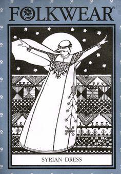 Belly Dance / Tribal Pattern by Folkwear #105 ~ Syrian Dress - Artemis Imports Belly Dance Store