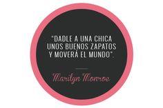 Citas Glamour- Marilyn Monroe