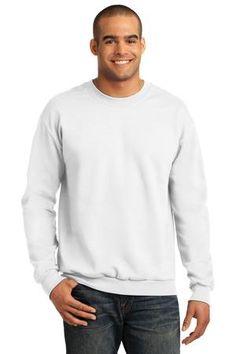 Buy the Anvil Crewneck Sweatshirt Style 71000 from SweatShirtStation.com, on sale now for $13.68 #crewneck #sweatshirt #giftfordad White
