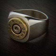JECTZ® - Marksman Bullet Ring, $99.95 (http://www.jectz.com/marksman-bullet-ring/)