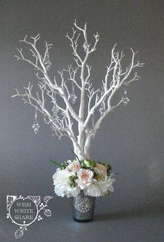 Wishing Tree Guestbook con peonías y rosas por WishWriteShare