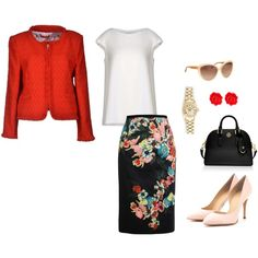 """""""Skirt Pencil"""" by ymelda on Polyvore"""