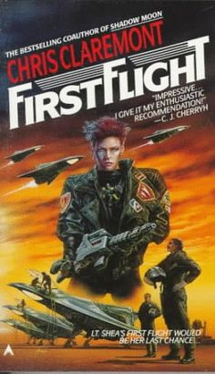 First Flight by Chris Claremont http://www.amazon.com/dp/0441235840/ref=cm_sw_r_pi_dp_eXXGwb0BBEGH9