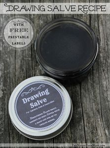 The Homestead Survival | Make Your Own Drawing Salve Recipe – Natural Remedy | http://thehomesteadsurvival.com