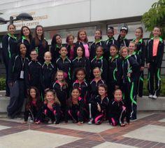 Elevate Dance Team from Rancho Cucamonga, CA! #WeLoveOurCustomers