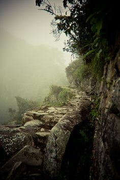 "Inca Trail Paths by Glen Murphy, via 500px. Repinned by Libby VanBuskirk on ""Everything Inca."""