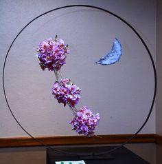 New Garden Club Journal    a hanging floral design        flower arrangement