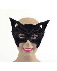 Cat Black Glasses Style mask