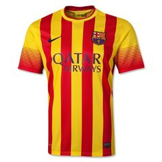 Nike FC Barcelona Long Sleeved Away Soccer Jersey University Red/Vibrant Yellow Discount Barcelona Shirt, Barcelona Jerseys, Barcelona Football, Fc Barcelona, Football Neymar, Adidas Football, Arsenal, Barca Jersey, Adidas Soccer Shoes