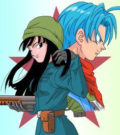Mirai Trunks and Mirai Mai Artista: Lucky Seven