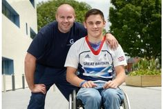 This time last year, wheelchair racer Jamie Carter was aiming for a place at the 2016 Paralympics in Brazil. After making rapid progress in the past 12 months, he is now getting ready for this summer's London Games. The 17-year-old Grimsby Institute student tells Simon Faulkner that the news of his selection is still sinking in.
