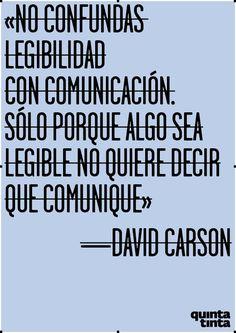 No confundas legibilidad con comunicación.