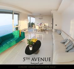 5th Avenue Luxury apartments for sale in Ain al Mrayse شقق فخمة للبيع في عين المريسة  ✔300م ✔مطلّة على البحر  ✔جميع الواجهات غرانيت ✔تكييف مركزي Carrir ✔موقف سيّارتين لكل شقة  ✔مولّد كهرباء ✔بئر ارتوازي For more info please contact us : (Whats App available on both numbers) • +961 70 07 08 88  • +965 9999 7990 #samagroup #samarealestate #realestatelebanon #realestatebeirut #dreamhouse #forsale #location #investment #modernhouse #interior #homedesign #lifestyle #interiordesign #architecture… Bean Bag Chair, Real Estate, Table Decorations, House, Furniture, Home Decor, Decoration Home, Home, Room Decor
