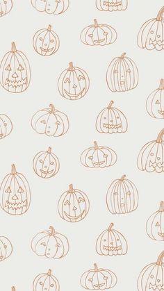 October Wallpaper, Cute Fall Wallpaper, Halloween Wallpaper Iphone, Holiday Wallpaper, Cute Patterns Wallpaper, Halloween Backgrounds, Pumpkin Wallpaper, Wallpaper Ideas, Food Wallpaper